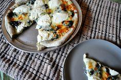 Four cheese white pizza recipe