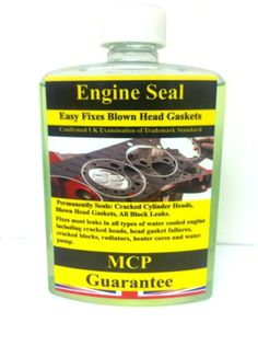 ENGINE BLOCK SEAL,REPAIRS CRACKS IN CYLINDERS BLOCKS & BLOWN HEAD GASKET REPAIRS