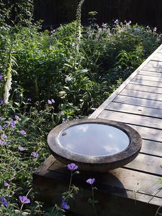 white bathrooms images salvaged chair bird bath gardening diy 15117