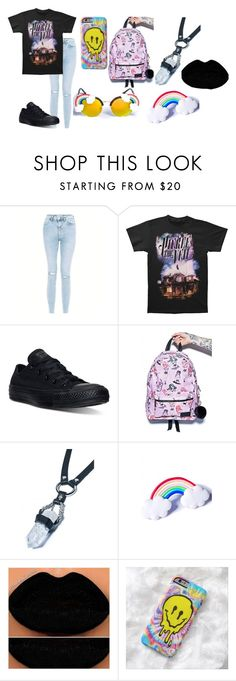 """""""cxse"""" by annie-hall-barton ❤ liked on Polyvore featuring Converse"""
