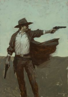 victoriousvocabulary: GUNSLINGER [noun] 1. a person noted for...
