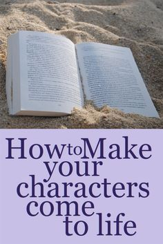 If your characters aren't convincing, your readers will lose interest. Learn how to write believable characters. #Writing