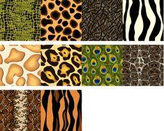 Animal-print patterns tutorials for Illustrator