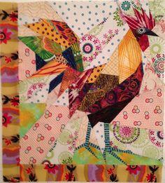 Ruth McDowell Quilts Art | Chicken Challenge
