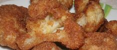 Onion Rings, Vegetable Recipes, Cauliflower, French Toast, Meat, Chicken, Vegetables, Breakfast, Ethnic Recipes
