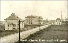 Břeclav - kasárny