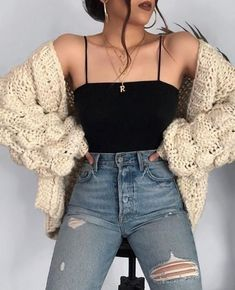Cute Fall Outfits Ideas 2018 - 50 fall outfit ideas ⋆ Take NoteYou can find Outfit ideas and more on our website.Cute Fall Outfits Ideas 2018 - 50 fall outfit ideas ⋆ Take Note Cute Comfy Outfits, Cute Fall Outfits, Winter Fashion Outfits, Look Fashion, Stylish Outfits, Spring Outfits, Runway Fashion, Fashion Beauty, Fashion Dresses