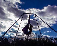 Ninja Dancing - Aerial Silks Hammock - Karlene Murphy