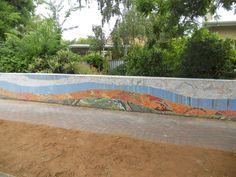 Decorate Your Fence With Mosaics !