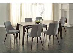 Fillmore Contemporary Dining Table Set