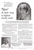 Pepsodent Dentifrice 1925 Ad Picture