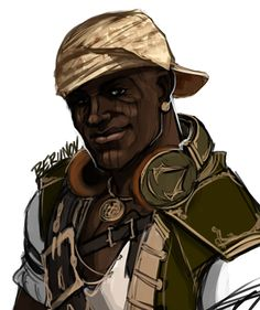 Adewale, definition of Badass Assassins Creed Black Flag, Assassins Creed Series, Assassins Creed Unity, Assassin's Creed I, Connor Kenway, Infamous Second Son, Ac2, Alternate History, Fandoms