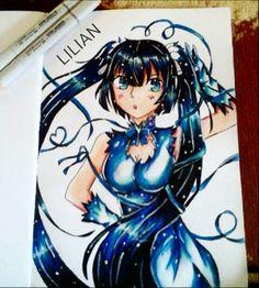 Hestia fanart from danmachi anime