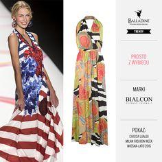 Kiedy nosić sukienki z odkrytymi plecami jak nie latem?! :)  Sukienka Bialcon | http://goo.gl/4qbJG0