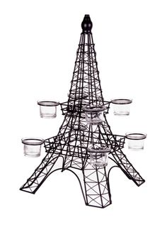HOME ESSENTIALS AND BEYOND Eiffel Tower Candle Holder