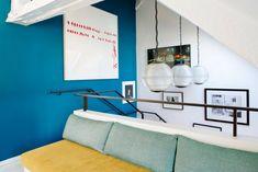 Stylish Duplex Apartment in Paris by Sarah Lavoine - CAANdesign White Apartment, Duplex Apartment, Appartement Design, Interior Decorating, Interior Design, Paris Apartments, Decoration Design, Story House, Pent House