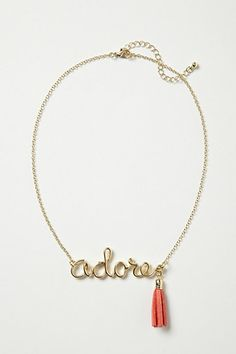 Adore Necklace