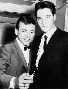Bobby Darin & Elvis Presley   Wowee! What a dynamite duo!!