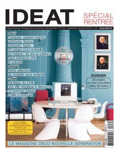 Ideat n°103. Septembre-Octobre 2013.  Actualité et Idées: design, évasion, architecture, tendances.