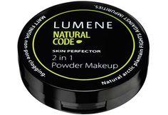 Lumene Natural Code - Lumene Natural Code Skin Perfector 2 in 1 Meikkipuuteri 43 g Face Makeup, Powder, Coding, Nature, Naturaleza, Face Powder, Makeup, Nature Illustration, Off Grid
