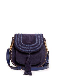 Hudson small suede cross-body bag | Chloé | MATCHESFASHION.COM
