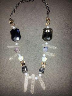 Modern Primitive statement necklace by GlitteringAndy on Etsy, $95.00 #jewelry