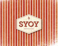 Yelp desktop & iPhone wallpapers. SYOY - See you on Yelp!