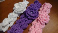 Puntada a crochet, muy fàcil, linda y divertida. Muestra No. 27