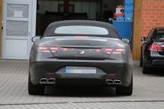 Erlkönig Mercedes-AMG S 63 Cabrio
