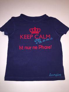 T-Shirt Kind KEEP CALM Mama Ist nur ne Phase   Luxurypimp