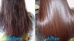 Home remedy for healthy and shiny hair: gelatin hair mask Gelatin Hair Mask, Steam Hair Straightener, Hair Treatment Mask, Diy Hair Mask, Diy Mask, Keratin Hair, Strong Hair, Super Hair, Smooth Hair