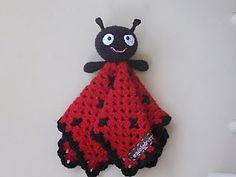 Lady Bug Lovey ~ free pattern