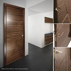 u201cDetails are not details. They make the design.u201d Charles Eames & Vicaima was chosen to enhance the apartment entrance doors of this ...