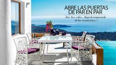 Aire, luz, color... viste tu terraza