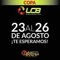"""210e325de8893 Barquisimeto Guia on Instagram  """"Via  larenabeachtennis - LCB Y LARENA les  recuerda que El III NACIONAL DE TENIS DE PLAYA comienza el 23 de Agosto."""