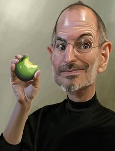 Steve Jobs - one of the greatest business people ever (and of course behind the many Apple products i own)