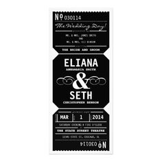 Discount DealsVintage Theater Ticket Wedding Invitation in BlackYes I can say you are on right site we just collected best shopping store that have