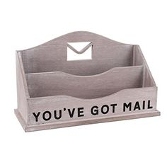LOFT DESIGN GRIS 'You've Got Mail' Lettre Rack-Porte-lettres en bois Carousel Home http://www.amazon.fr/dp/B015NLXFIY/ref=cm_sw_r_pi_dp_Wvy5wb0ZTNEJ0
