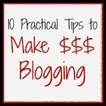 10 Practical Tips to Make $$$ Blogging by playpartypin.com #Blogging #Money