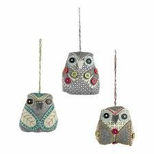 Christmas Tree Owls!