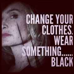 American horror story coven. Jessica Lang is so fabulous as the supreme! Always wear black.