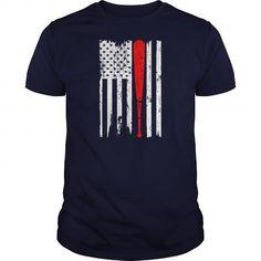 Baseball Softball Sports USA Flag Pride Tshirt
