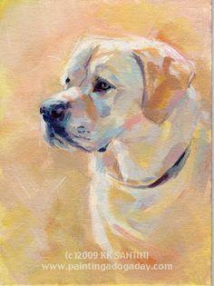 lots of beautiful dog paintings