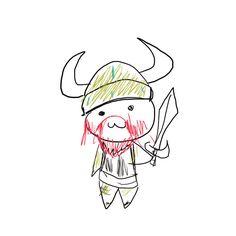chibi_viking_by_eloli-d4r8anr.jpg (894×894)
