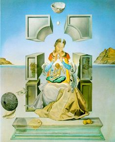 the madonna of port lligat..by DALI, one of my favorite artists