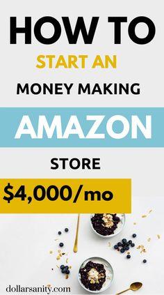 Make Money On Amazon, Earn Money From Home, Sell On Amazon, Way To Make Money, Make Money Online, Amazon Advertising, Advertising Ideas, Retail Arbitrage, Amazon Fba Business