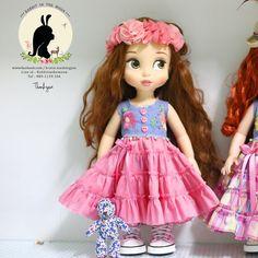 "Doll clothes for Disney animator dolls 16""."