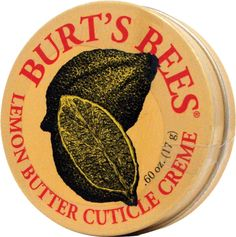 Burt's Bees Cuticle Creme Lemon Butter #setandsave