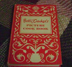 Vintage Betty Crockers Picture Cookbook. First Edition,Third Printing