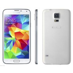 SAMSUNG GALAXY S5 G900AG900A UNLOCKED SmartphoneORIGINAL CARRIER AT&TFACTORY UNLOCKEDCOLOR: WHITE IMEI ARE CLEAN AND WILL WORK RIGHT AWAY WITH MICRO S... #smartphone #tmobile #unlocked #white #galaxy #samsung